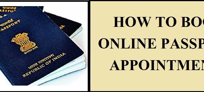 How to Book Online Passport Appointment | Full Process 2020
